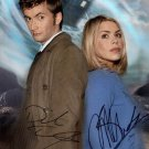 BILLIE PIPER & DAVID TENNANT SIGNED PHOTO 8X10 RP AUTOGRAPHED ** DOCTOR WHO