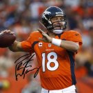 PEYTON MANNING SIGNED PHOTO 8X10 RP AUTOGRAPHED DENVER BRONCOS