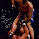 CHUCK LIDDELL SIGNED PHOTO 8X10 RP MMA FIGHTER AUTOGRAPHED vs. TITO ORTIZ