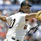 * MADISON BUMGARNER SIGNED PHOTO 8X10 RP AUTOGRAPHED GIANTS MLB BASEBALL