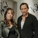 KATEY SAGAL & JIMMY SMITS SIGNED PHOTO 8X10 RP AUTOGRAPHED SONS OF ANARCHY CAST