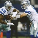TONY ROMO DEMARCO MURRAY SIGNED PHOTO 8X10 RP AUTOGRAPHED DALLAS COWBOYS