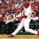 * OSCAR TAVERAS SIGNED AUTOGRAPHED PHOTO RP 8X10 AUTO ST. LOUIS CARDINALS
