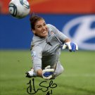 Hope Solo signed photo rp 8x10 autographed Olympic Soccer