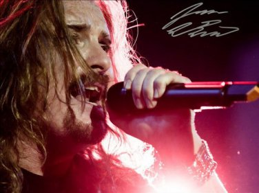 Dream Theater singer James Labrie  signed photo 8x10 rp autographed