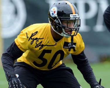 STEELERS FIRST PICK RYAN SHAZIER SIGNED PHOTO 8X10 RP AUTOGRAPHED PITTSBURGH