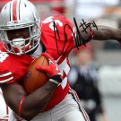 Carlos Hyde signed photo rp 8x10 autographed Ohio State