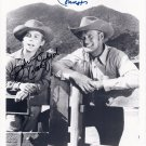 JOHNNY CRAWFORD CHUCK CONNORS SIGNED PHOTO 8X10 AUTOGRAPHED THE RIFLEMAN CAST