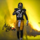 LE'VEON BELL SIGNED PHOTO 8X10 RP AUTOGRAPHED LEVEON PITTSBURGH STEELERS