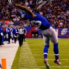 ODELL BECKHAM JR SIGNED PHOTO 8X10 RP AUTOGRAPHED * THE AMAZING TOUCHDOWN CATCH!