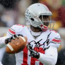 JT BARRETT SIGNED PHOTO 8X10 RP AUTOGRAPHED OHIO STATE BUCKEYES FOOTBALL !