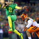 MARCUS MARIOTA SIGNED PHOTO 8X10 RP AUTOGRAPHED OREGON DUCKS
