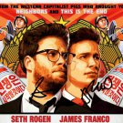 "SETH ROGEN & JAMES FRANCO SIGNED PHOTO 8X10 RP AUTOGRAPHED "" THE INTERVIEW """