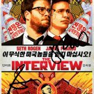 "SETH ROGEN & JAMES FRANCO SIGNED POSTER PHOTO 8X11 RP AUTOGRAPHED "" THE INTERVIEW """