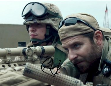 BRADLEY COOOPER SIGNED PHOTO 8X10 RP AUTOGRAPHED * AMERICAN SNIPER