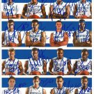 KENTUCKY WILDCATS 2014 TEAM SIGNED PHOTO 8X10 RP AUTOGRAPHED COLLEGE BASKETBALL