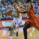 DEVIN BOOKER SIGNED PHOTO 8X10 RP AUTOGRAPHED KENTUCKY WILDCATS BASKETBALL !