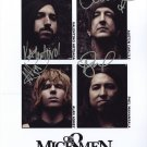 OF MICE AND MEN FULL BAND SIGNED PHOTO 8X10 RP AUTOGRAPHED AUSTIN CARLILE