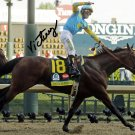 "VICTOR ESPINOZA "" AMERICAN PHAROAH "" SIGNED PHOTO 8X10 RP AUTOGRAPHED KENTUCKY DERBY"