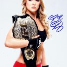 RONDA ROUSEY SIGNED PHOTO 8X10 RP AUTOGRAPHED STRIKEFORCE
