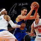 STEPHEN CURRY SIGNED PHOTO 8X10 RP AUTO AUTOGRAPHED GOLDEN STATE 54 POINTS INSCRIPTION