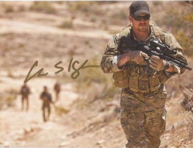 CHRIS KYLE SIGNED PHOTO 8X10 RP AUTOGRAPHED NAVY SEAL AMERICAN SNIPER