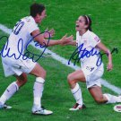 ALEX MORGAN ABBY WAMBACH SIGNED PHOTO 8X10 RP AUTOGRAPHED SOCCER