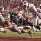 JOEY BOSA SIGNED PHOTO 8X10 RP AUTO AUTOGRAPHED OHIO STATE BUCKEYES FOOTBALL !