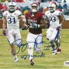 SAMAJE PERINE SIGNED PHOTO 8X10 RP AUTOGRAPHED OKLAHOMA SOONERS FOOTBALL