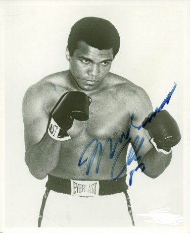 MUHAMMAD ALI SIGNED PHOTO 8X10 RP AUTO AUTOGRAPHED GREATEST BOXER !