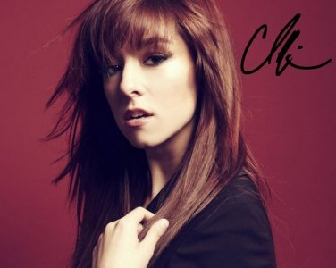 """CHRISTINA GRIMMIE SIGNED POSTER PHOTO RP AUTOGRAPHED """" THE VOICE """""""