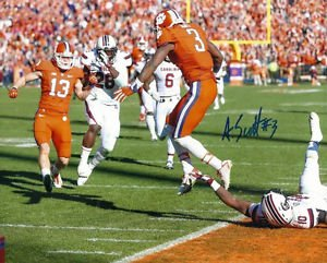 ARTAVIS SCOTT SIGNED PHOTO 8X10 RP AUTOGRAPHED CLEMSON TIGERS !