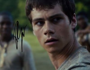DYLAN O'BRIEN SIGNED PHOTO 8X10 RP AUTOGRAPHED * THE MAZE RUNNER