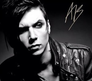 ** ANDY BIERSACK SIGNED PHOTO 8X10 RP AUTOGRAPHED SIXX * BLACK VEIL BRIDES