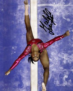 GABBY DOUGLAS SIGNED PHOTO 8X10 RP AUTOGRAPHED U.S. OLYMPIC GYMNASTICS TEAM
