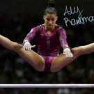 * ALY RAISMAN SIGNED PHOTO 8X10 RP AUTOGRAPHED U.S. OLYMPIC GYMNASTICS TEAM