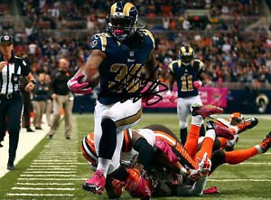TODD GURLEY SIGNED PHOTO 8X10 RP AUTO  AUTOGRAPHED ST. LOUIS RAMS