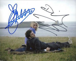 DOCTOR WHO CAST SIGNED PHOTO 8X10 RP AUTOGRAPHED DR DAVID TENNANT & BILLIE PIPER