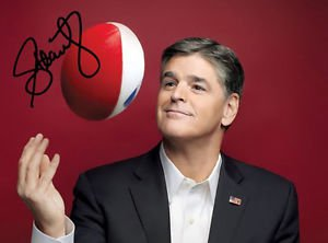 SEAN HANNITY SIGNED PHOTO 8X10 RP AUTO AUTOGRAPHED FOX NEWS !