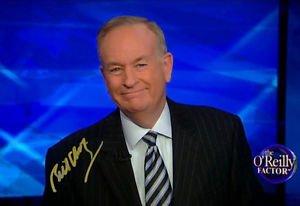 BILL O'REILLY SIGNED PHOTO 8X10 RP AUTOGRAPHED FOX NEWS THE O'REILLY FACTOR