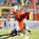 ARTIE BURNS SIGNED PHOTO 8X10 RP AUTOGRAPHED MIAMI HURRICANES STEELERS FIRST PIC