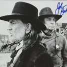 WILLIE NELSON JOHNNY CASH SIGNED POSTER PHOTO 8X10 RP AUTOGRAPHED MUSIC LEGENDS
