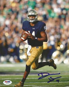 DESHONE KIZER SIGNED POSTER PHOTO 8X10 RP AUTOGRAPHED NOTRE DAME FOOTBALL !