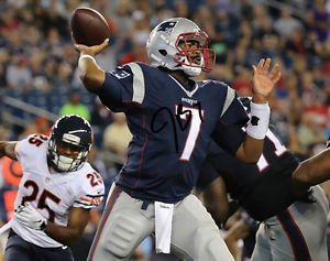 JACOBY BRISSETT SIGNED PHOTO 8X10 RP AUTOGRAPHED NEW ENGLAND PATRIOTS