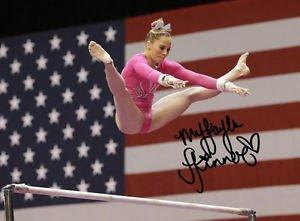 MYKAYLA SKINNER SIGNED PHOTO 8X10 RP AUTOGRAPHED USA GYMNASTICS OLYMPICS