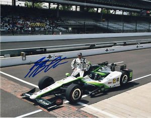 * BRYAN CLAUSON SIGNED PHOTO 8X10 RP AUTOGRAPHED * RACE CAR DRIVER