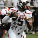 PATRICK MAHOMES II SIGNED PHOTO 8X10 RP AUTOGRAPHED TEXAS TECH RED RAIDERS *