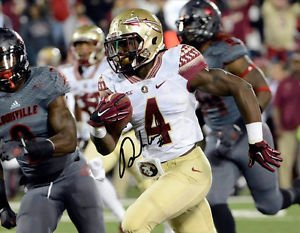 * DALVIN COOK SIGNED PHOTO 8X10 RP AUTOGRAPHED FLORIDA STATE SEMINOLES FSU