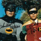 ADAM WEST BURT WARD SIGNED PHOTO 8X10 RP AUTOGRAPHED BATMAN 1960'S