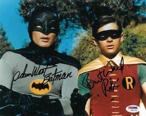 ADAM WEST BURT WARD SIGNED PHOTO 8X10 RP AUTOGRAPHED BATMAN 1960'S